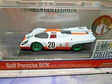 PORSCHE 917 K 1970 Le Mans #20 Gulf Steve McQueen + Figur green wheels GL 1:43