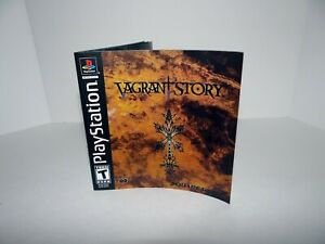 Vagrant Story Playstation - Replacement manual
