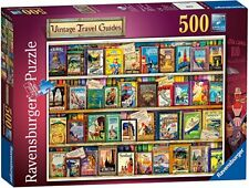 Jigsaw Puzzles 500 Pieces Vintage Travel Guides Ravensburger Sealed Brand New