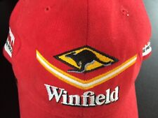 Formula 1 racing team Winfield Williams cap hat collector's item red