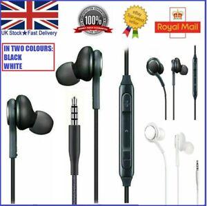 For Samsung Galaxy S10 Plus S9 S8 S7edge + Headphones Earphones Headset With Mic