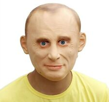Party Costume - Vladimir Putin Mask President Famous People Celebrity Human Mask