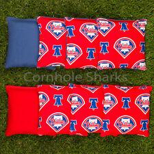 Cornhole Bean Bags Set of 8 ACA Regulation Bags Philadephia Phillies