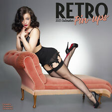 Retro Pin Ups 2021 Sexy Calendar 15% Off Multi Orders!