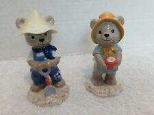 Bing & Grondahls Teddy Bear Figurines Victor & Victoria 1999