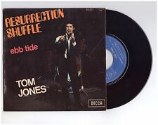 """#334 TOM JONES  """"RESURRECTION SHUFFLE"""" - VG++/ VG++ - N° 84007 - SP 45T"""