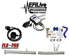 "EFI Live Tuner 13-17 Dodge Ram 6.7L for Cummins DPF EGR DEF Delete CSP4 4"" Hose"