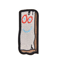 1pc cute cartoon iron on patch embroidery sew iron applique diy badge craft JX