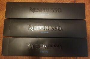 Lot of 3 Nespresso VertuoLine Odacio Dark Roast Coffee 30 Ct Coffee Pods