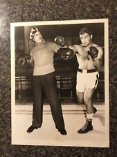 Rocky Marciano Red Skelton original Photo Boxing comedian