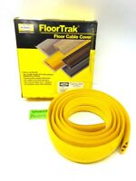 HUBBELL, FLOORTRAK FLOOR CABLE COVER, FT2Y10, 10', YELLOW