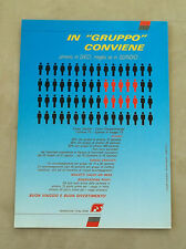 F065 - Advertising Pubblicità - 1992 - FERROVIE ITALIANE