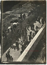 Jérusalem Cortège de Nabi Moussa Photo Originale 9x6,5cm Voyage en Orient 1909