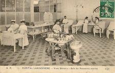 CARTE POSTALE PARIS HOPITAL LARIBOISIERE VOIES URINAIRES SALLE DES PANSEMENTS