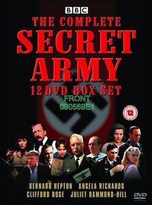 Secret Army The Complete Series 1-3 DVD Box Set BBC