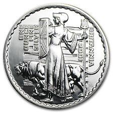 2001 Great Britain 1 oz Silver Britannia BU - SKU #11456