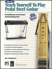 Teach Yourself To Play Pedal Steel Guitar TAB Music Book/CD Beginner Method E9
