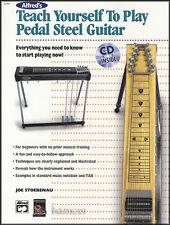 Teach Yourself To Play Pedal Steel Guitar TAB Music Book/CD Beginner Method E9