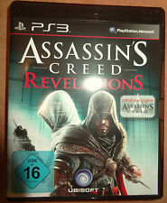 Assassin's Creed Revelations Playstation 3 PS3 Video-Spiel Bluray Disc UBISOFT