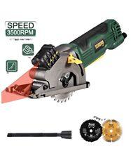 Scie Circulaire, Teccpo 3500Rpm Mini Scie Circulaire, TAPS22P