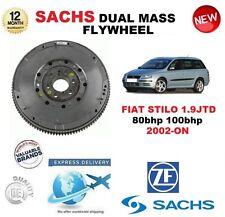für Fiat Stilo 1.9 JTD 80bhp 100 BHP ab 2002 SACHS DMF ZweiMassenSchwungrad &