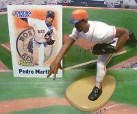 2000  PEDRO MARTINEZ - Starting Lineup - SLU -Figure & Card -BOSTON RED SOX - CD