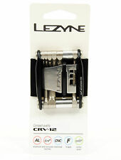 Lezyne CRV-12 Folding Multi-Tool, Black, Cycling