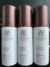 3 X Vita Liberata Luxury Tan Self Tanning Tinted Mousse Medium_100ml RRP£58.5