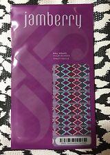 Jamberry Nail Wraps Full Sheet - Southwestern Diamond DM03 Throwback Thursday
