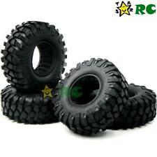 "4pcs RC 1/10 1.9"" 108mm Crawler Tires Fit for RC Axial rc4wd 1.9'' Beadlock Rims"