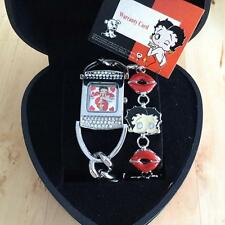 BETTY BOOP WATCH and MATCHING BRACELET GENUINE LICENSED KING FEATURES STUDIOS