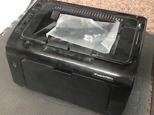 used HP LaserJet P1102w b/w Laser Printer for Parts/Repair