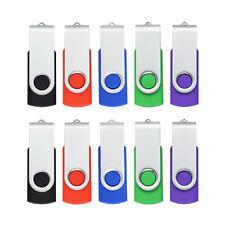 10PCS 16GB USB Stick Speicherstick 2.0 Flash Memory Pen Drive Metal Thumb U Disk