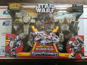 Hasbro Star Wars Transformers Millennium Falcon Action Figure New Sealed