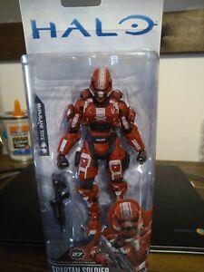 Halo Series 3 SPARTAN SOLDIER Red Walgreens Exclusive McFarlane 2015