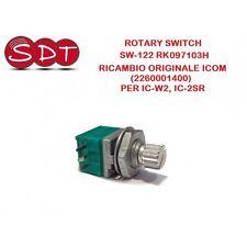 ROTARY SWITCH SW-122 RK 097103H  RICAMBIO ORIGINALE ICOM (2260001400) PER IC-W2
