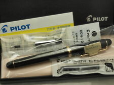 Pilot (NAMIKI) Custom 74 Black with converter (CON-70) / 14K / SF nib New!