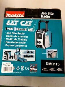MAKITA Baustellenradio »DMR115«, nkl. Bluetooth 5.0 & Netzteil,IP65,ohne Ak
