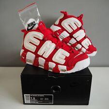 Nike Air More Uptempo Supreme Suptempo Red US7.5