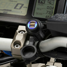 Ultimateaddons Dual USB Handlebar Hardwire Charger Powers Direct from Battery