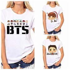 KPOP BTS Suga T-shirt Bangtan Girls Unisex T shirt Short Sleeve JUNGKOOK JIMIN