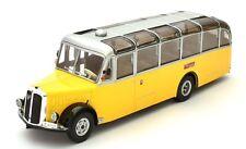 HACHETTE 1/43 SAURER L4C BUS/COACH YELLOW SWISS POST BUS PTT SWITZERLAND 1959