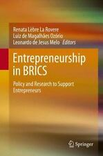 Entrepreneurship in BRICS : Policy and Research to Support Entrepreneurs: By ...