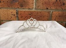 Wedding Bridal Formal Rhinestone Diamonte Hair Comb Tiara Headband