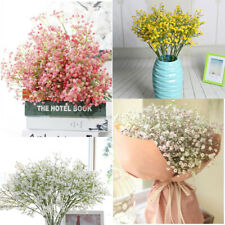 Artificial Fake Baby's Breath Gypsophila Silk Flowers Bouquet Wedding Decor Home