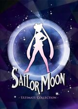 Sailor Moon Collection Season 1-5 + 3 Movies Ultimate English Version DVD Box