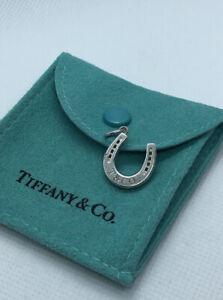 Tiffany & Co. 1837 Horseshoe Bracelet Necklace Pendant Charm Sterling Silver 925