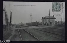 CPA 44 - Doulon-Lès-Nantes - la Gare - 1908 - Loire-Atlantique -