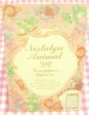 Y.MAIL / Nostalgic Animal Letter Pad / Made in Japan Stationery Cat Bear Bambi