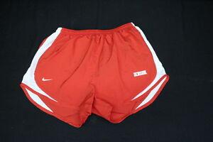 NWT NIKE Women's Dri-Fit Stay Cool Tempo Running Shorts, Univ Red, Sz M, DENISON